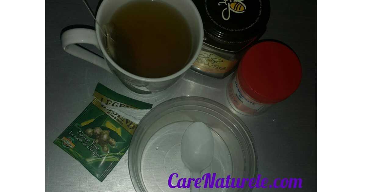 Green tea facial scrub